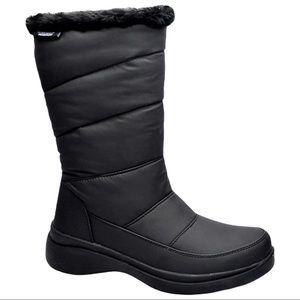 London Fog New Women's Waterproof Pippa Boot Black